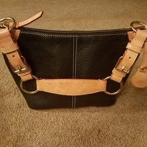 Small black Dooney purse